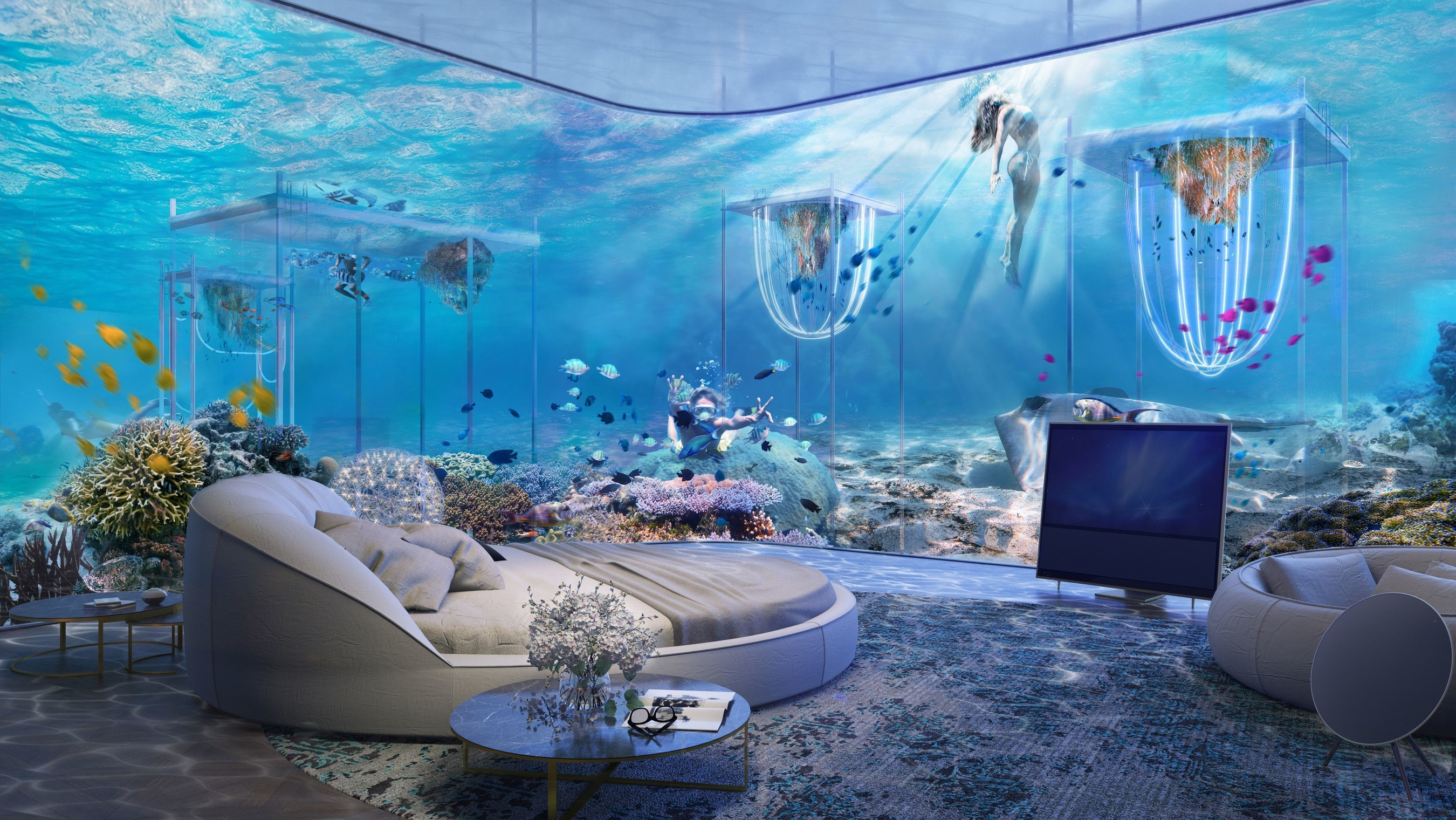 The Underwater Room